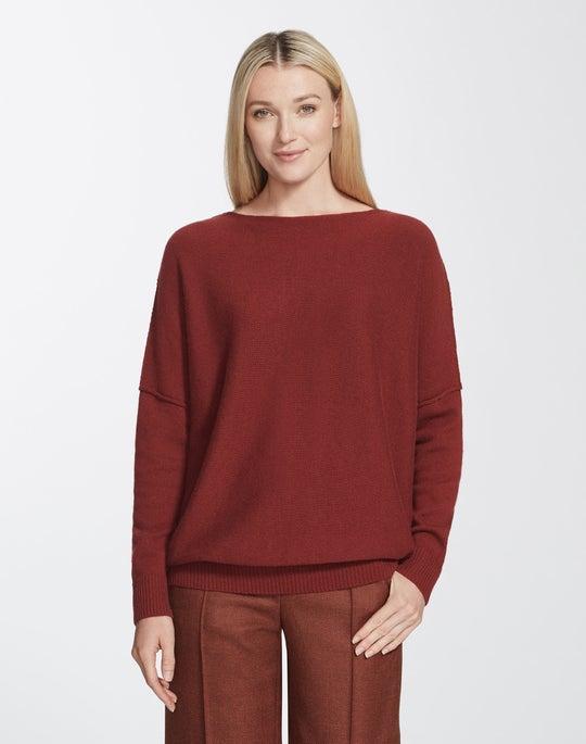 Cashmere Bateau Neck Sweater
