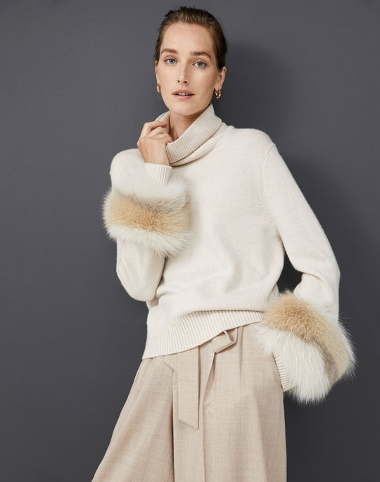 Turtleneck Sweater with Fox and Tillary Pant