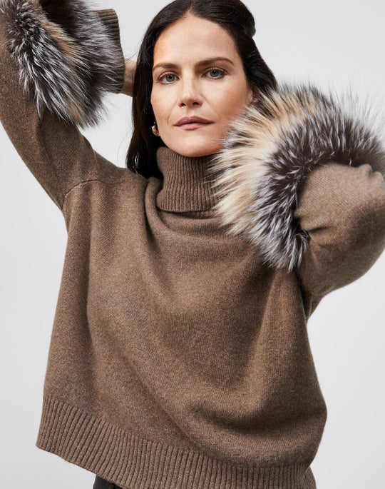 Turtleneck Sweater with Fox and Reeve Pant