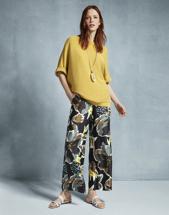 Cuffed Bateau Neck Sweater and Riverside Ankle Pant