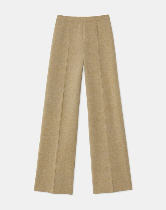 KindCashmere Double Knit Pull-On Pant