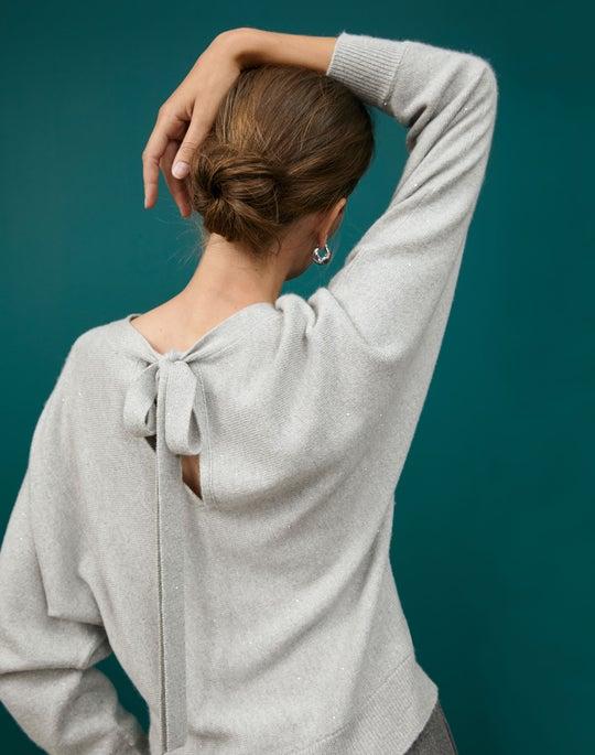 Chine Dolman Sweater and Dalton Wide Leg Pant